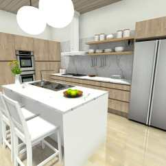 Kitchen Planner Online Cabinet Paint Colors Plan Your With Roomsketcher | Blog