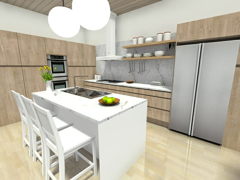 kitchen layout ideas cabinets portland 7 that work roomsketcher blog