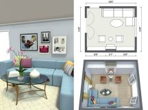 RoomSketcher Room Planner - 3D Photo and Floor Plans of a Room Design