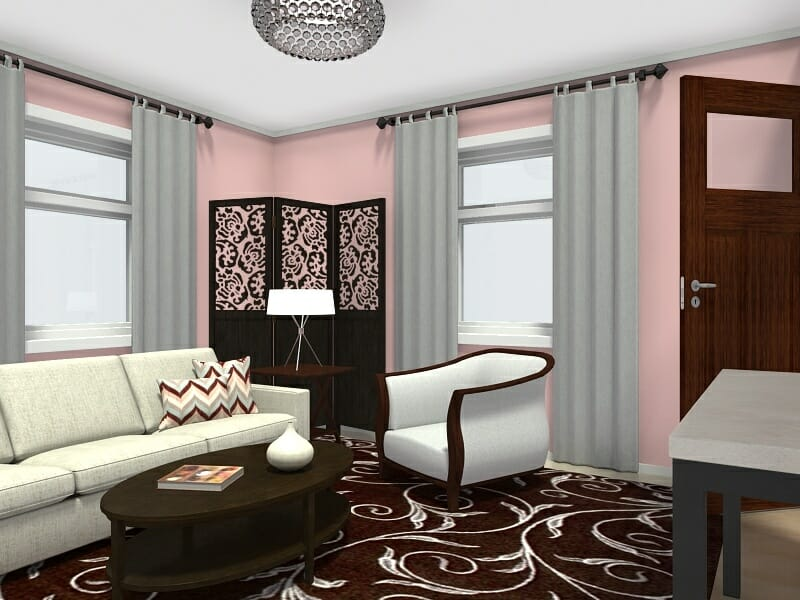 living room layout 4 chairs cindy crawford 8 expert tips for small layouts roomsketcher blog corner