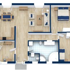 Living Room Plan Design Chandelier Floor Plans Roomsketcher 2 Bedroom