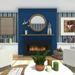 Paint For The Living Room Ideas Screens Roomsketcher With Dark