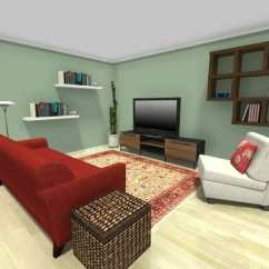 Ideas For Small Living Room Furniture Arrangement With Blue Leather Sofa Roomsketcher Think Vertical