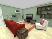 Small Living Room Furniture Layout