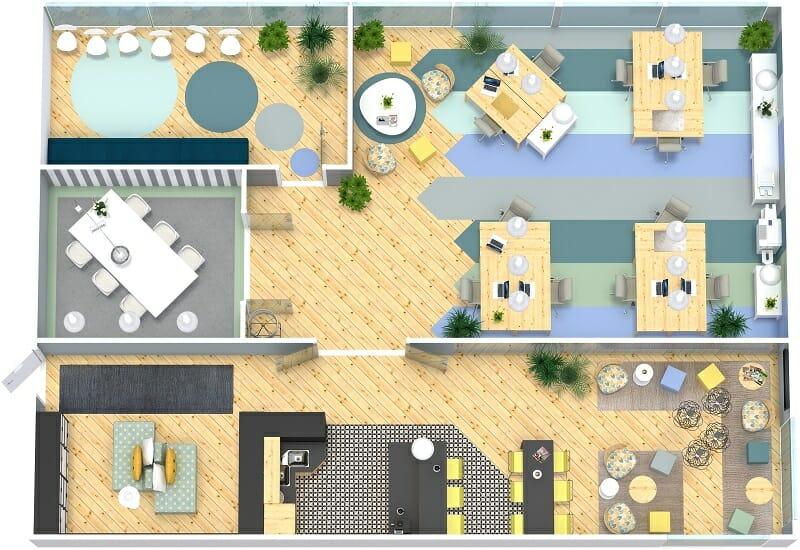 Office Floor Plans