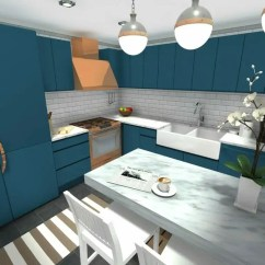 Kitchen Planners Stools Planner Roomsketcher 3d Photo