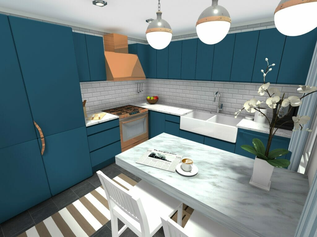 kitchen planner app table lights roomsketcher 3d photo