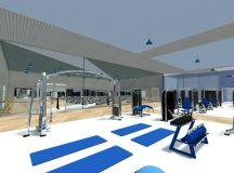 RoomSketcher Gym Planner - 3D Photo of a gym design