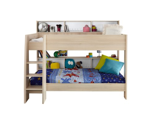 Charley Bunk Twin Over Bed With Trundle 2 Mattresses Included