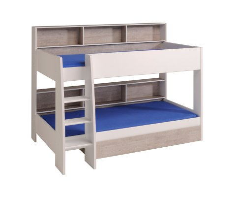 Taylor Bunk Twin Over Bed With Trundle 2 Mattresses Included