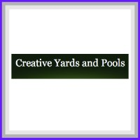 This is Creative Yards and Pools Sponsor Square.