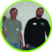 This is a photo of Jeff and Dan for the Contractor page.