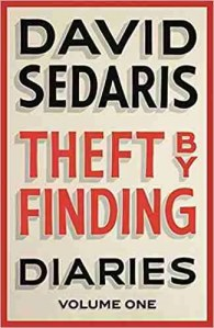 David Sedaris Theft by Finding Diaries book