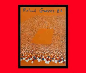 Etsy gift guide Roland Garros French Open 1984 poster