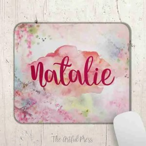 Etsy gift guide personalised mouse mat