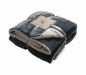 best buy throws Grey Sherpa Throw Rooi