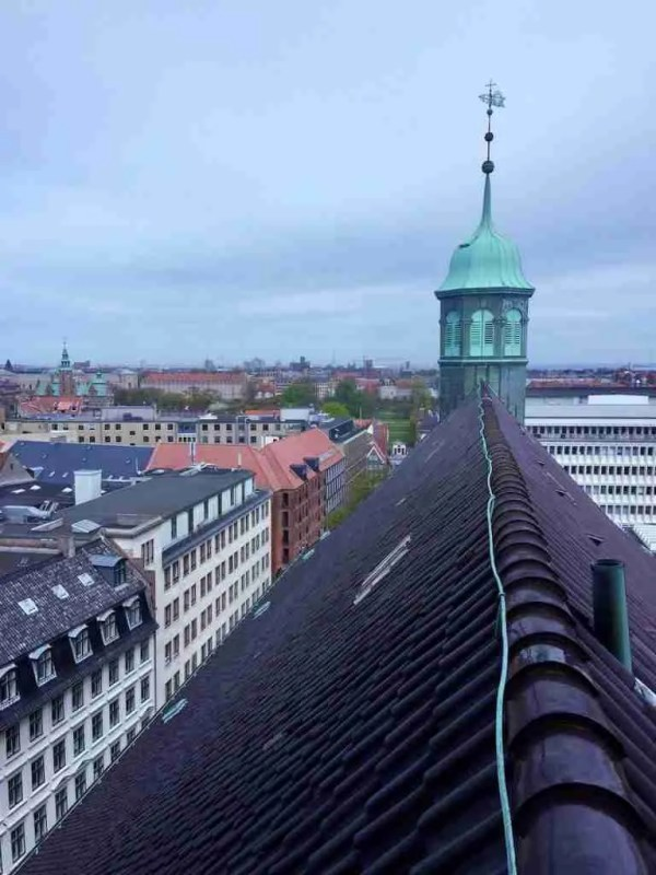 Copenhagen Instatour Roomy Home rooftops Round Tower
