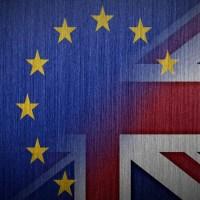 Brexit-Flags