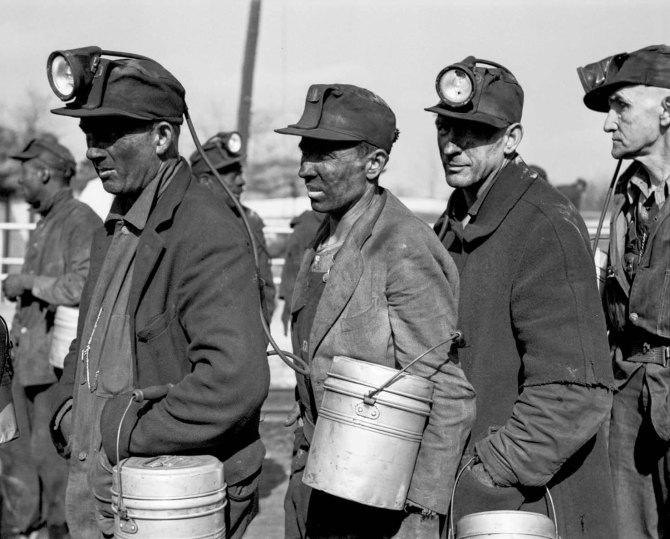 Coal miners, near Birmingham, Alabama. 1937.