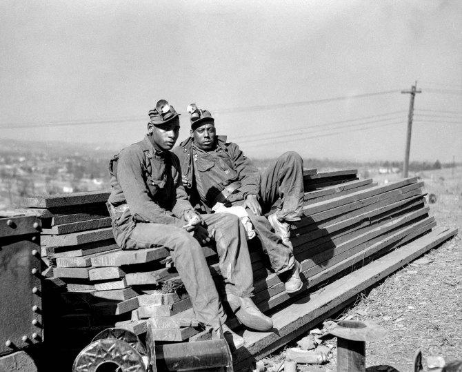 Iron ore miners. Jefferson County, Alabama. 1937.
