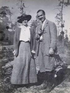 Ethel Carow Roosevelt Derby and Richard Derby