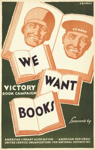 We Want Books Poster