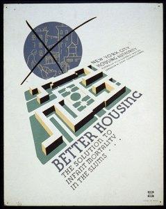 Better Housing Poster