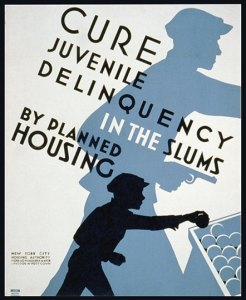 Cure Delinquency Poster