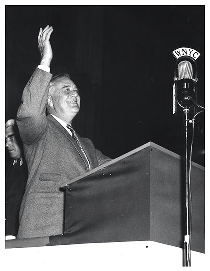 FDR at Hunter College