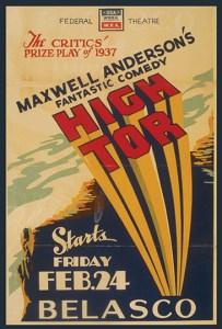 High Tor Poster
