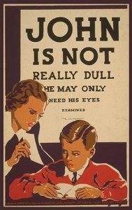 John is Not Dull Poster