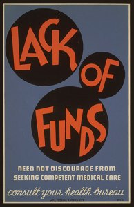 Lack Of Funds Poster