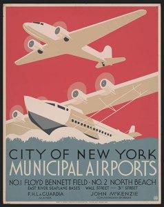 Municipal airports Poster