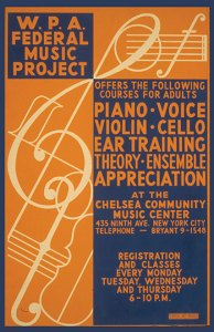 Music Project Poster