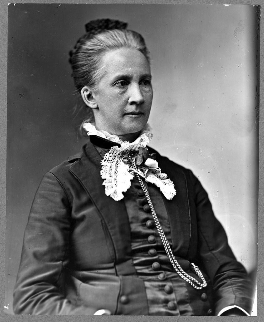 Belva A. Lockwood. c.1880. (JN)