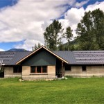 45 panel (14 kW) system in Nakusp