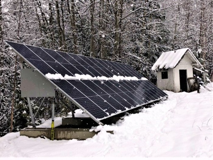 28 panel (10kW) system in Vernon