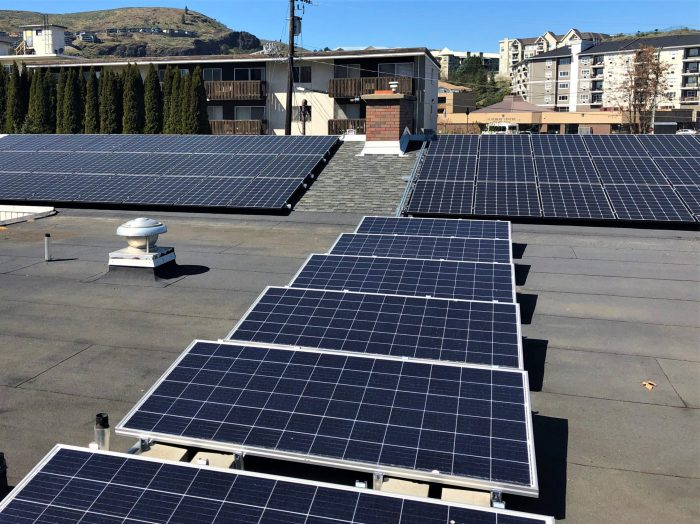 94 panel (29 kW) system in Vernon