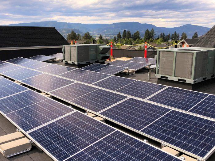 104 panel (35 kW) system in Kelowna