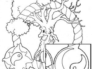 Adult Coloring Page Yin Yang Archives Root Inspirations