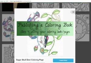 how to publish coloring page on gumroad