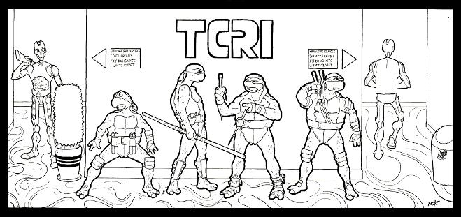 - Teenage Mutant Ninja Turtles Coloring Page - Root Inspirations