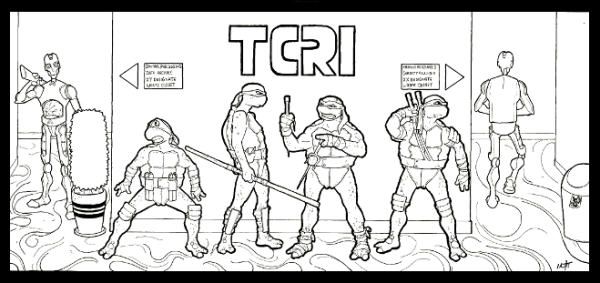teenage mutant ninja turtles coloring page