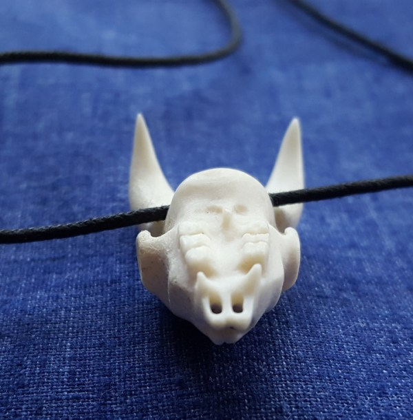 Goat Skull Bone Jewelry