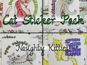 Cat Sticker Pack NSFW