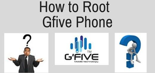 root Gfive Phone