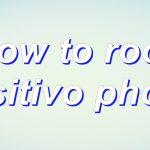 Root Positivo