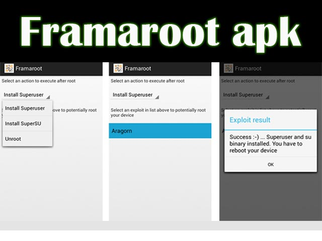 How to Root/Unroot Android device via Framaroot