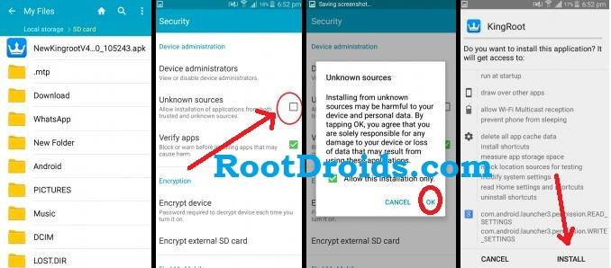 How To Root LK-Mobile C7