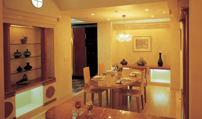 diningroomrecessedlighting  Root Electric Services